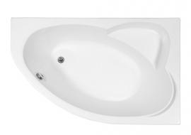Акриловая ванна Aquanet Sarezo 160*100 правая