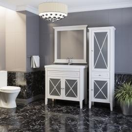 Мебель для ванной Opadiris Палермо 75 белая