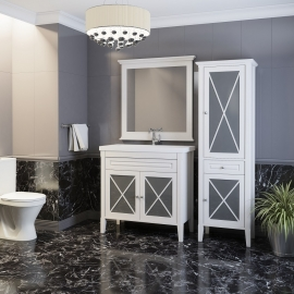 Мебель для ванной Opadiris Палермо 90 белая