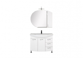 Мебель для ванной Aquanet Моника 105 белая