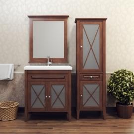 Мебель для ванной Opadiris Палермо 75 орех
