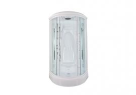Душевая кабина Aquanet Taiti 110*110 без гидромассажа прозрачное стекло