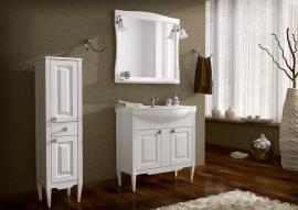 Мебель для ванной АСБ-Мебель Модена 85 белая