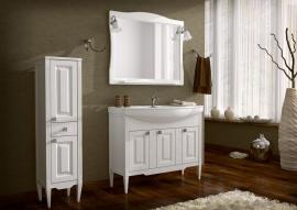 Мебель для ванной АСБ-Мебель Модена 105 белая