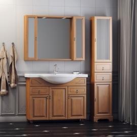 Мебель для ванной Opadiris Гредос 95 итальянский орех