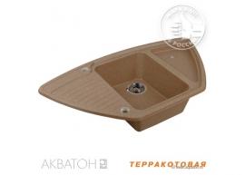 Мойка кухонная Акватон Лория терракотовая