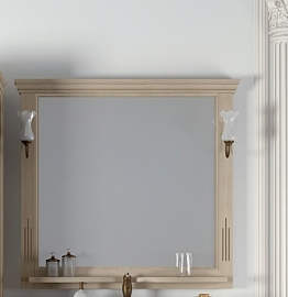 Зеркало Opadiris Риспекто 95 белое