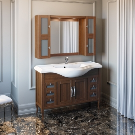 Мебель для ванной Opadiris Мираж 120 светлый орех