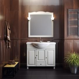 Мебель для ванной Opadiris Атрия 95 слоновая кость