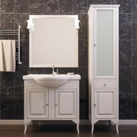 Мебель для ванной Opadiris Глория 75 слоновая кость