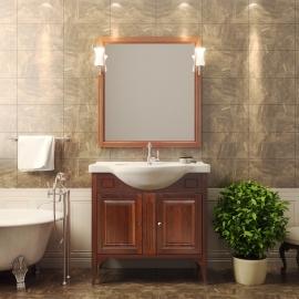 Мебель для ванной Opadiris Глория 85 светлый орех