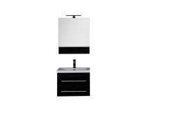 Мебель для ванной Aquanet Верона 58 подвесная черная
