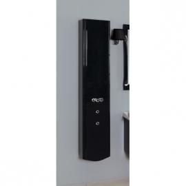 Шкаф-колонна Акватон Венеция черный правый