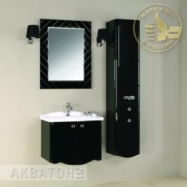 Мебель для ванной Акватон Венеция 65 черная