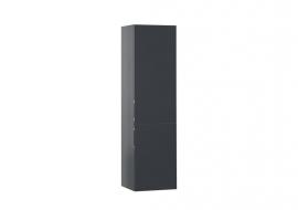 Шкаф-пенал Aquanet Алвита 40 серый антрацит