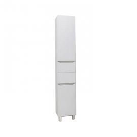 Шкаф-колонна Акватон Дакота белый/выбеленное дерево