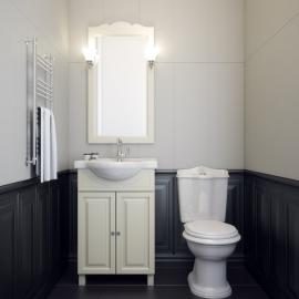Мебель для ванной Opadiris Атрия 55 слоновая кость