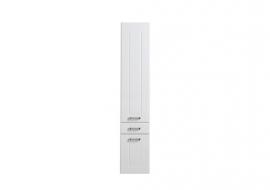 Пенал Aquanet Рондо 35 белый 2 дверцы, 1 ящик