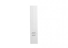 Пенал Aquanet Рондо 35 белый 2 дверцы