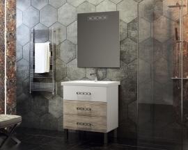 Мебель для ванной Smile Боско 60 белая/орегано