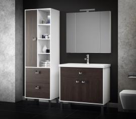 Мебель для ванной Smile Квинта 70 белый/винтаж