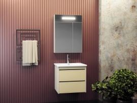Мебель для ванной Smile Фреш 60 белая/бежевая