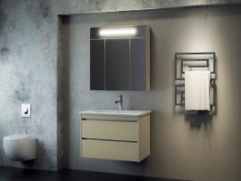 Мебель для ванной Smile Фреш 80 белая/бежевая