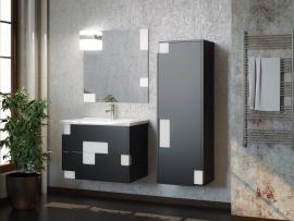 Мебель для ванной Smile Санторини 80 серая