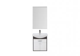 Мебель для ванной Aquanet Грейс 60 дуб кантенбери/белый (1 ящик, 2 дверцы)
