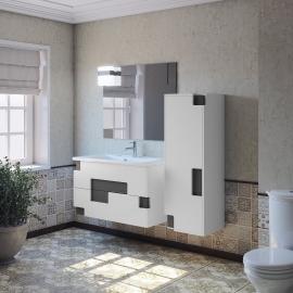 Мебель для ванной Smile Санторини 80 белая