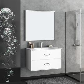 Мебель для ванной Smile Монтэ 90 белая