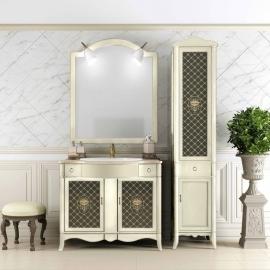 Мебель для ванной Opadiris Виктория 90 слоновая кость