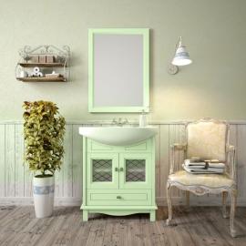 Мебель для ванной Opadiris Омега 65 фисташковая