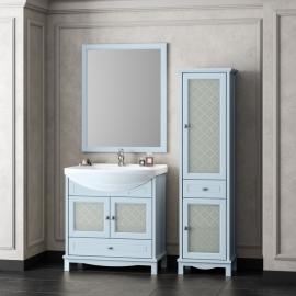 Мебель для ванной Opadiris Омега 75 голубая