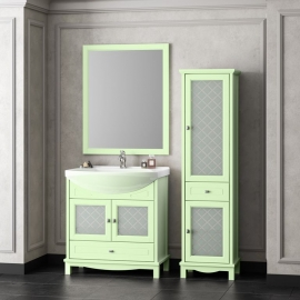 Мебель для ванной Opadiris Омега 75 фисташковая