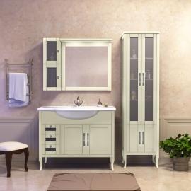 Мебель для ванной Opadiris Мираж 100 слоновая кость