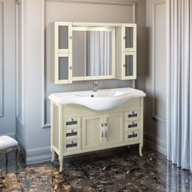 Мебель для ванной Opadiris Мираж 120 слоновая кость
