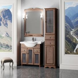Мебель для ванной Opadiris Тибет 80 нагал/стекло