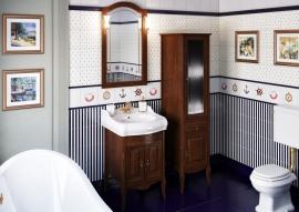 Мебель для ванной Opadiris Лоренцо 60 светлый орех