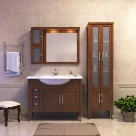 Мебель для ванной Opadiris Мираж 100 светлый орех