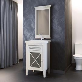Мебель для ванной Opadiris Палермо 50 белая