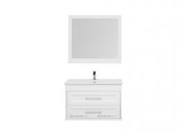 Мебель для ванной Aquanet Бостон 100 белая