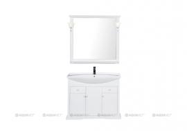 Мебель для ванной Aquanet Лагуна 105 белая