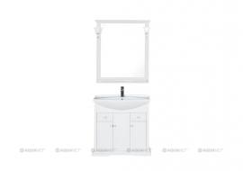 Мебель для ванной Aquanet Лагуна 85 белая