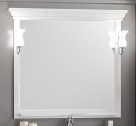 Зеркало Opadiris Риспекто 95 белое матовое
