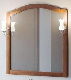 Зеркало Smile Империал 100 светлый орех