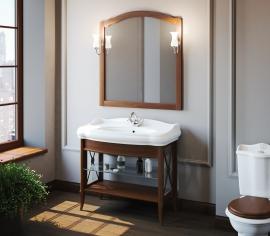 Мебель для ванной Smile Империал 80 светлый орех